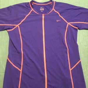 Full zip Nike cover up size XL